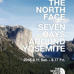THE NORTH FACE SEVEN DAYS AROUND YOSEMITE