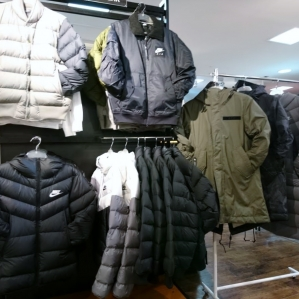 The winter clothing outer arrival★