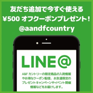 There was A&F country LINE formula account!
