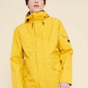 전통적인 쉘 재킷의 스타일에 최신예의 기능성을