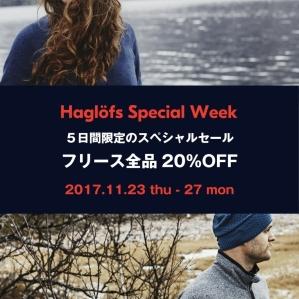 Haglofs Special Week