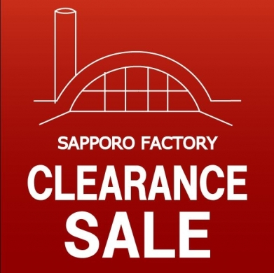 SAPPORO FACTORY CLEARANCE SALE