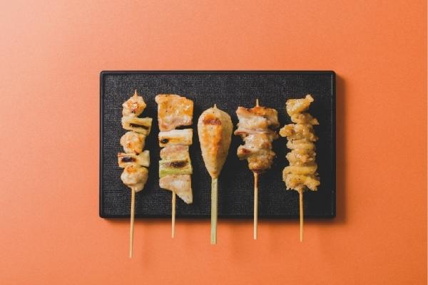 美唄烤雞肉串、家常菜火炎