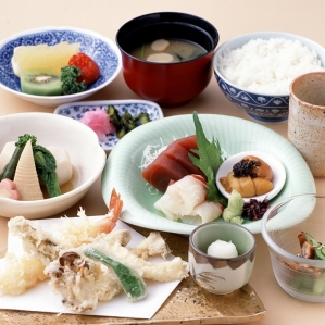Tempura, Japanese dishes Ebisu shop